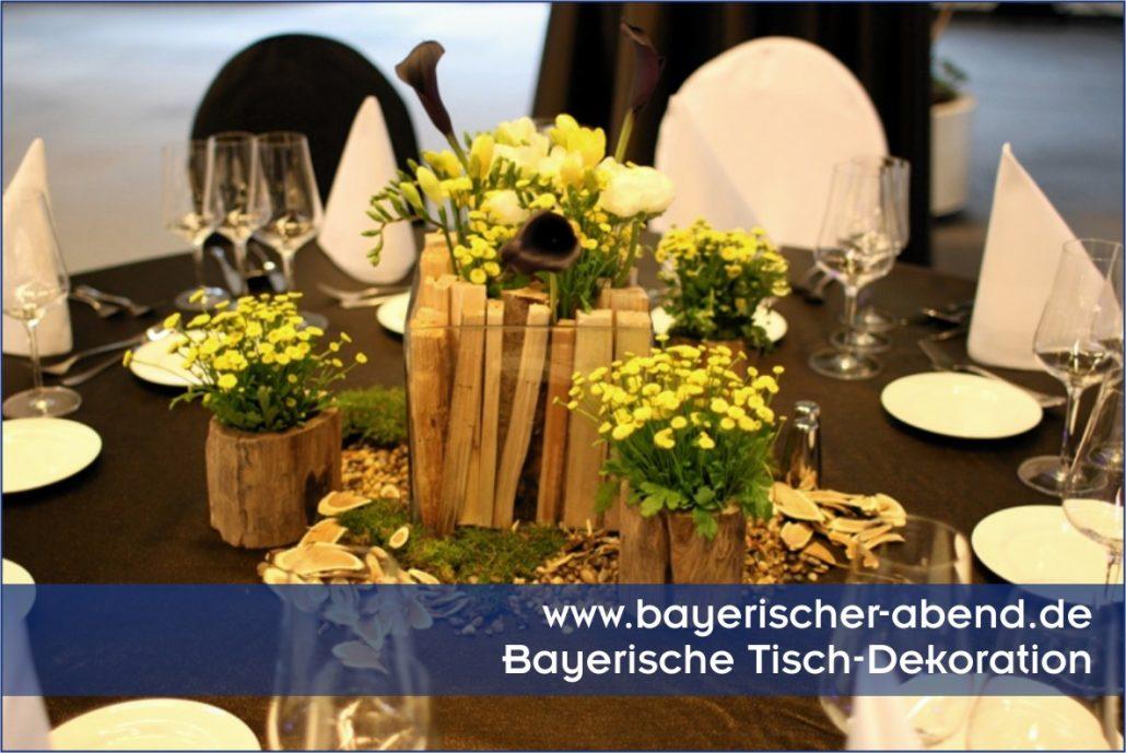 bayerische dekoration f r bayerischer abend oktoberfest. Black Bedroom Furniture Sets. Home Design Ideas