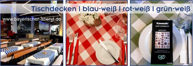Bayerische Dekoration Fur Bayerischer Abend Oktoberfest